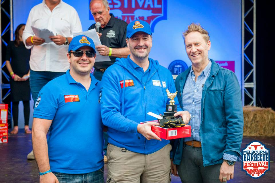 Our first Competition, 5th overall 3rd Chicken YAKS Melbourne 2015