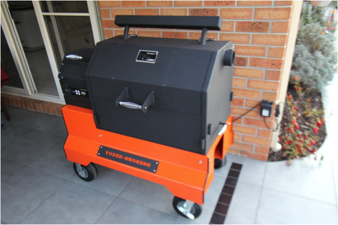 Set up and season a Yoder YS640 - Hector's Smoke House BBQ Team