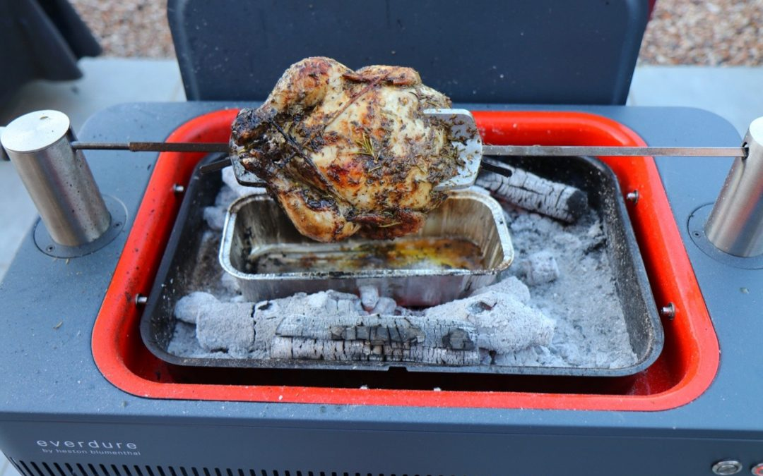 Everdure Fusion Rotisserie Review and First Cook (Greek Chicken)