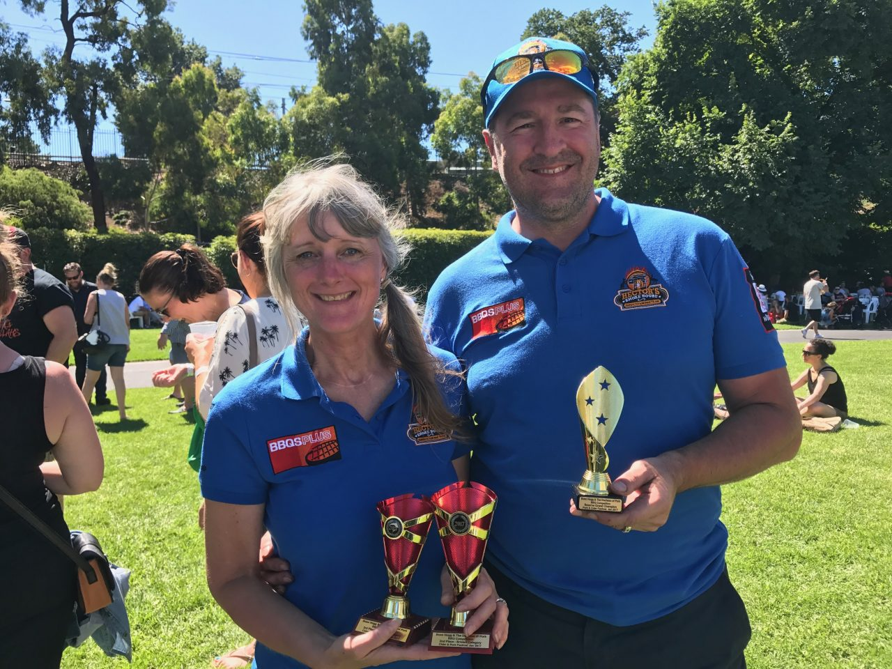 RGC, 2nd Brisket 3rd Chicken, Pork and Cider  2017 Dave and Karen 5th Competition